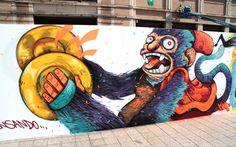 #Mural #Graffiti - Aleix Gordo Hostau - Bad District - SWAB by Aleix Gordo Hostau
