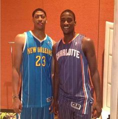Kentucky Basketball anthony davis and michael kidd-gilchrist nba
