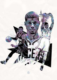 NBA - ILLUSTRATIONS by Mink Couteaux