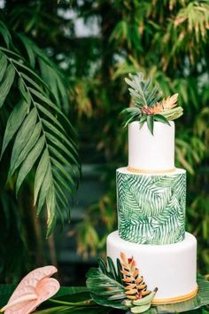 The perfect wedding cake for tropical wedding theme 8 - tropical wedding cake, tropical wedding cake flavors, tropical wedding cake topper, wedding cakes, - Beach Wedding Favors, Cool Wedding Cakes, Wedding Cake Designs, Wedding Cake Toppers, Destination Wedding, Hawaii Wedding Cake, Beach Weddings, Tropical Weddings, Summer Wedding Cakes