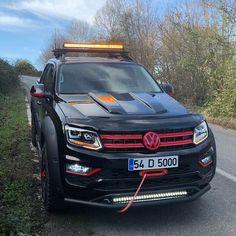VW Amarok off road tuning