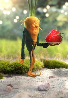 carrot guy concept by: Michael Kutsche