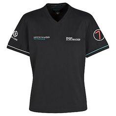 Mercedes GP Petronas Formula One Team 2011 Schumacher T-Shirt - Black