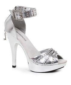 Look at this Silver Jamie D'Orsay Pump on #zulily today!