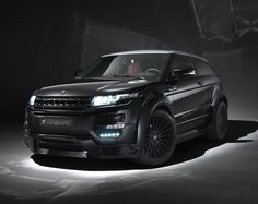 Range Rover Evoque by HAMANN.  I might settle for an Evoque when styled by these guys!