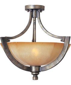Maxim Lighting 12301 Moda 16 Inch Semi Flush Mount