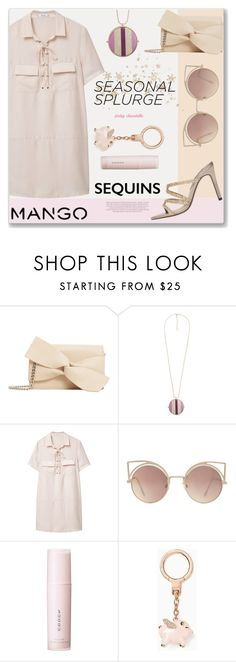 """My Splurge Gifts - Pastel Mango: 08/12/16 (WGC)"" by pinky-chocolatte ❤ liked on Polyvore featuring MANGO, SUQQU, Kate Spade and xO Design"
