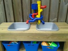 DIY Sand and Water Table | Great DIY water table!