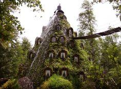 Magic Mountain Lodge in Huilo Huilo, Chile