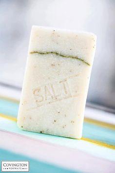 Salt Bar - vegan soap, cold process soap, all natural soap, salt soap, real good ingredients