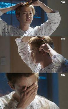 How did Kim Min Suk feel about shaving his head for 'Doctors'? Asian Actors, Korean Actors, Kim Rae Won, Best Kdrama, Korean Drama Series, Suspicious Partner, Weightlifting Fairy Kim Bok Joo, Kim Min Seok, Korean Entertainment