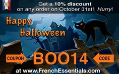 Halloween special coupon! 10% discount with BOO14 code. here http://www.frenchessentials.com/french-curriculum-ebooks-homeschool-store