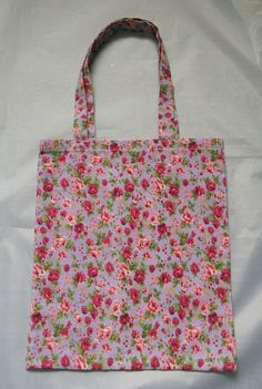 This is a cute tote bag a little smaller than average. Perfect for children to carry full of toys or book It has been over locked inside to prevent fraying. measures / 10 (without straps) Floral Tote Bags, Cute Tote Bags, Reusable Tote Bags, Children, Inspiration, Toddlers, Biblical Inspiration, Boys, Kids