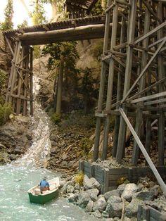 Hangman Creek Lumber Company #modeltrainsets #modelrailroadsupplies