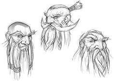 Dwarf Faces from EverQuest Next