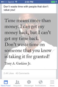Tony Gaskins said it best!!
