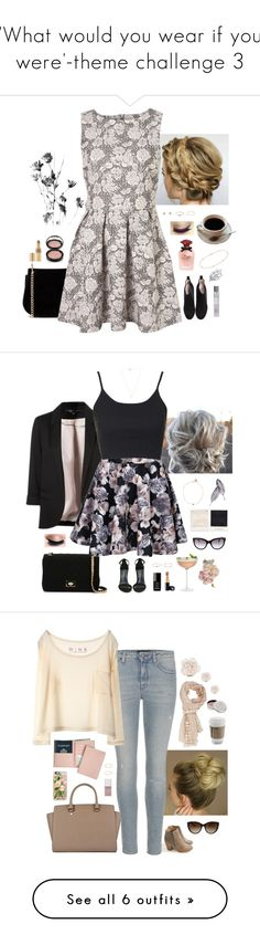 """""""'What would you wear if you were'-theme challenge 3"""" by somethinglikelove ❤ liked on Polyvore featuring Ganni, Anastasia Beverly Hills, Forever 21, blanca monrós gómez, Gabriela Artigas, Yves Saint Laurent, Dolce&Gabbana, Minor Obsessions, Laura Ashley and Cartier"""