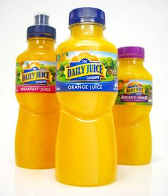 Daily Juice award-winning structural packaging design