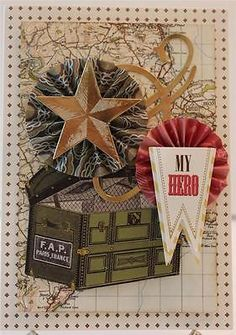MY-HERO-WITH-LOVE-FOR-HIM-MILITARY-HANDMADE-GREETING-CARD-VINTAGE-ANNA-GRIFFIN
