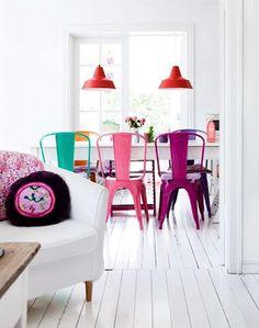 Ideas de decoración: tarima blanca | meu canto blog