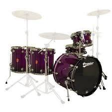 paars drumstel