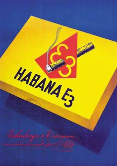 Habana E3 Retro Ads, Objects, Candy, Posters, Poster, Sweets, Candy Bars, Billboard, Chocolates