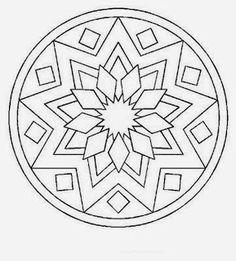 – Coloring pages - Malvorlagen Mandala Stained Glass Patterns, Mosaic Patterns, Pattern Art, Embroidery Patterns, Quilt Patterns, Mandala Pattern, Coloring Book Art, Mandala Coloring Pages, Colouring Pages