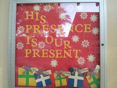 Christmas Bulletin Board
