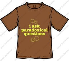 """""""I ask paradoxical questions"""" -Kyle from Studio C"""