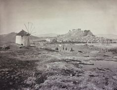 Athens in Another photo by William J. Stillman published in The Acropolis of Athens, London Greece Photography, Bw Photography, Athens Acropolis, Athens Greece, Old Pictures, Old Photos, Vintage Photos, Greece History, Los Angeles Museum