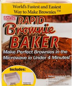 Rapid - Rapid Brownie Baker - Gray, BRO-1000
