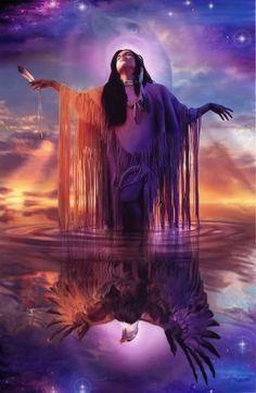 Eagle spirit woman.
