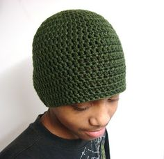 Free Crochet Pattern Basic Beanie : 1000+ images about Free Hat and Beanie Patterns on ...