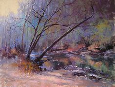 River Magic by Barbara Jaenicke Pastel ~ 12 x 16