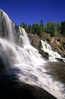 Gooseberry Falls State Park, north shore, Minnesota