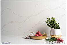 Calacatta gold - From Omega Quartz Collection Omega Quartz, Quartz Slab, Calacatta Marble, Most Luxurious Hotels, Mandarin Oriental, White Backdrop, Backdrops, Texture, Fashion Design