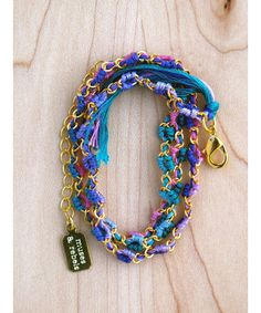 Ombre Boho Chic Wrap Friendship Bracelet