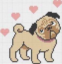 Thrilling Designing Your Own Cross Stitch Embroidery Patterns Ideas. Exhilarating Designing Your Own Cross Stitch Embroidery Patterns Ideas. Cross Stitch Charts, Cross Stitch Designs, Cross Stitch Patterns, Cross Stitching, Cross Stitch Embroidery, Embroidery Patterns, Pixel Art, Pug Cross, Dog Pattern