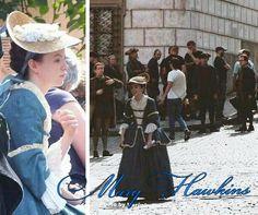 Outlander filming Season 2 in Prague Mary Hawkins - Rosie Day