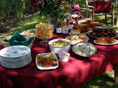 A beautiful #BBQ #wedding, catered by yours truly. #cater #food #outdoors