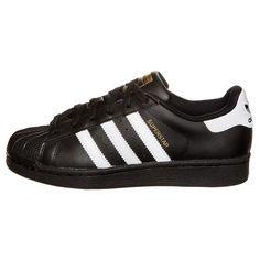 new product 1c563 dd178 Adidas Women Men Originals Superstar Foundation Shoes Black White Adidas  Superstar Weiß, Superstars Schuhe,