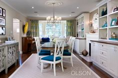 This family uses their dining room for more than just dining.  Homework, piano lessons and family feasts all find a purpose here.  They wanted it to be more functional with a design personality that reflected their own.  #candiceolson