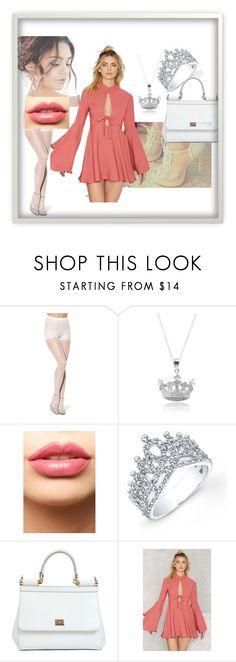 """Srta Styles"" by happylala on Polyvore featuring moda, Journee Collection, LASplash, Victoria Kay, Dolce&Gabbana e Nasty Gal"
