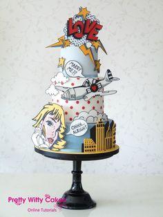 Image result for pop art cake