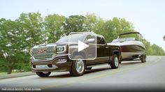 The 2016 GMC Sierra 1500 Denali pickup truck features incredible trailering technologies and powerful engine options to help you tow and haul with ease.