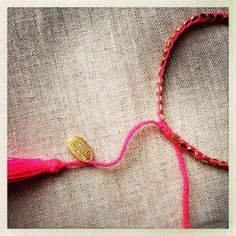 Gloria Bracelet Gold & Pink NEW!