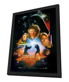Take a look at this 'Star Wars: Episode III' Framed Poster on zulily today!