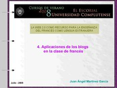 aplicaciones-de-los-blogs-a-la-clase-de-francs by Juan France via Slideshare