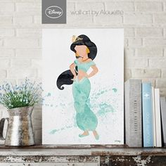 Princess Jasmine Disney Wall Art - Poster Α3