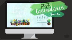 Freebie   Calendário Junho 2015
